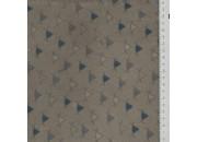 Tissu MB Pyramide champignon